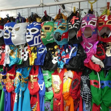 Les fameux masques de lucha libre