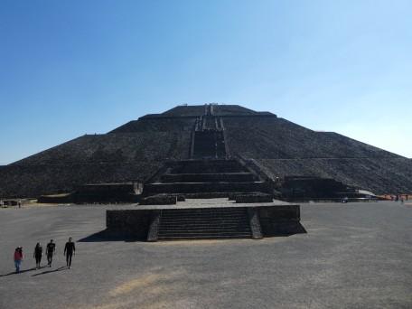 La pyramide du soleil
