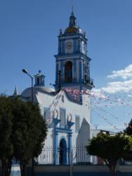 iglesia en cholula