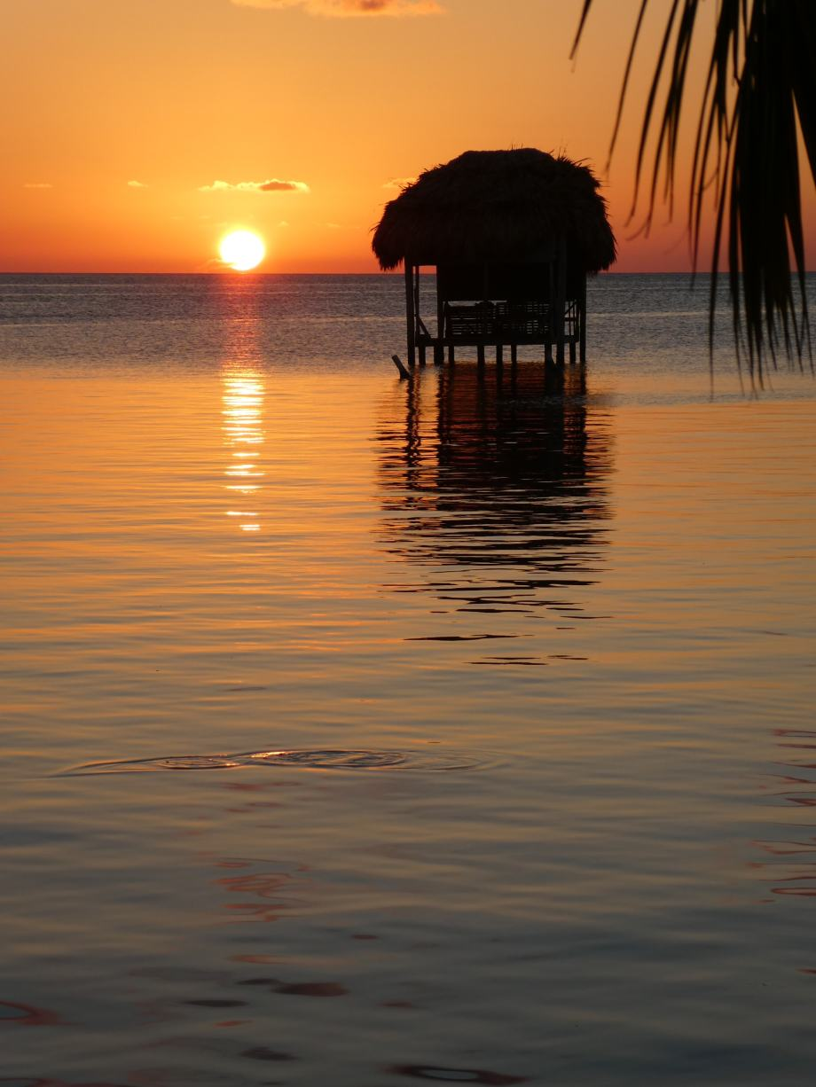 deuxieme-sunset-a-caye-caulker