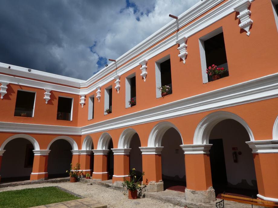 Couvent restauré, Antigua -