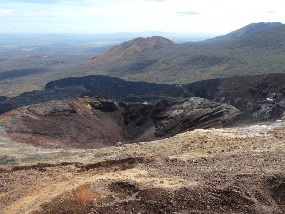 Cratère du Cerro Negro.