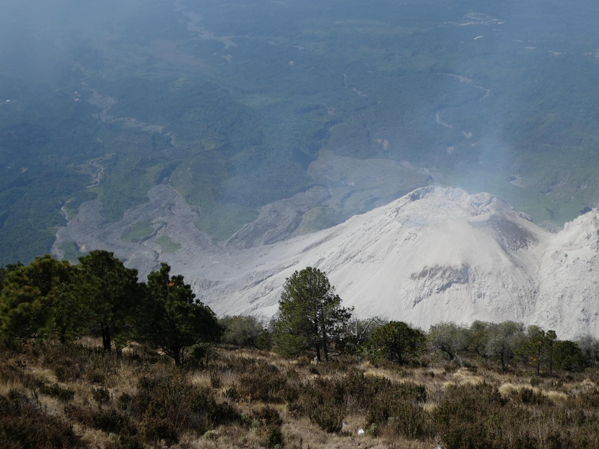 Cratere du Santiaguito