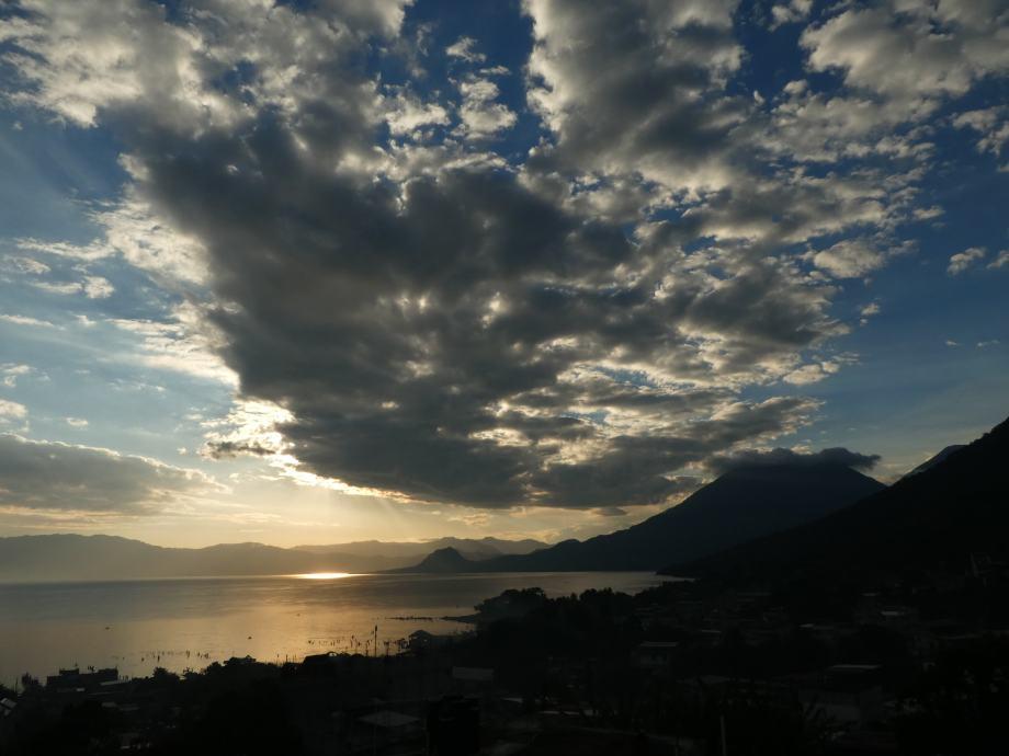 Lever de soleil vue de la terrasse..JPG