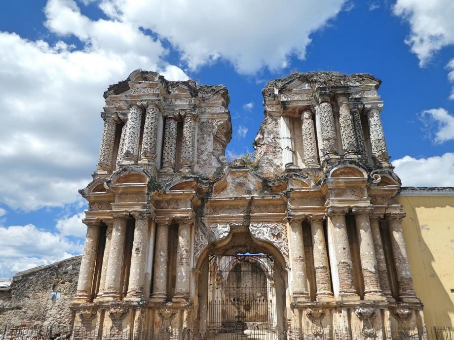 Ruines à Antigua