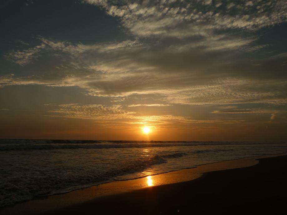 sunset à Poneloya