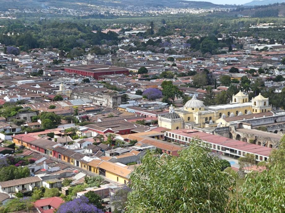 Vue du Cerro de la cruz