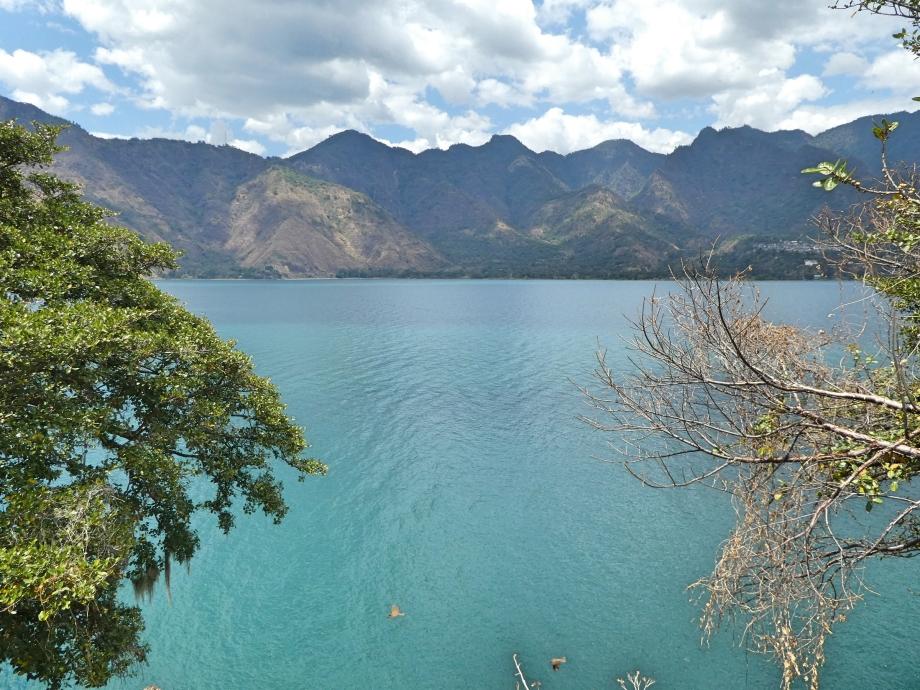 Vue sur le lac Atitlan -