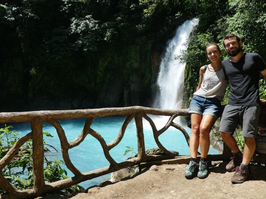 cascade du Rio Celeste -