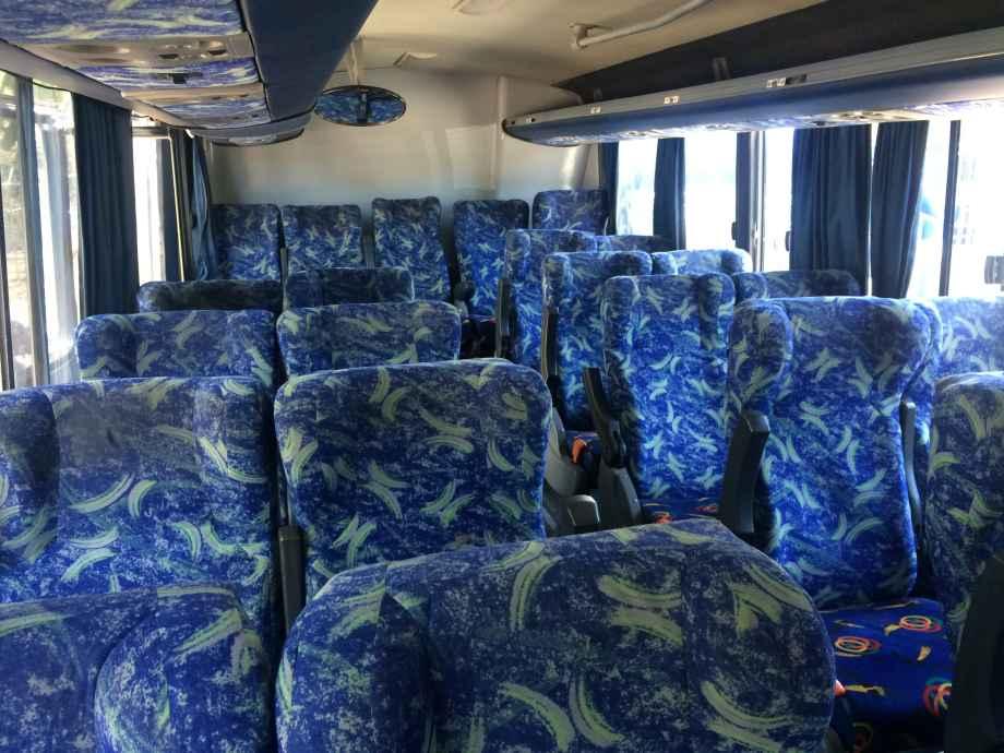 le luxe des bus costa ricains