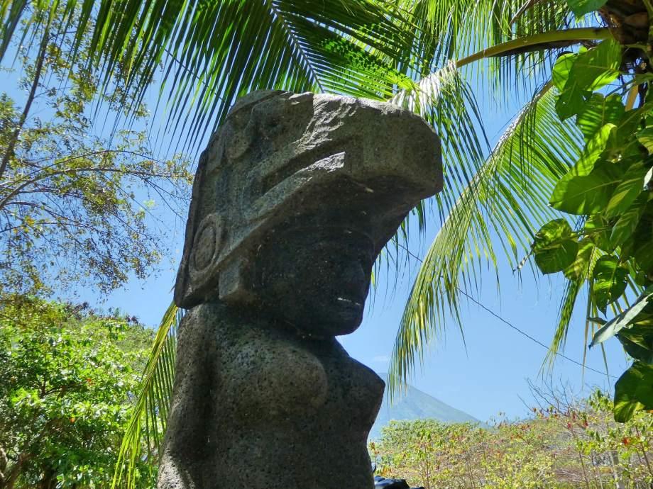Petroglyphes à Ometepe