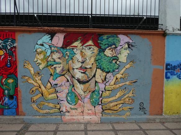 street art à san José -