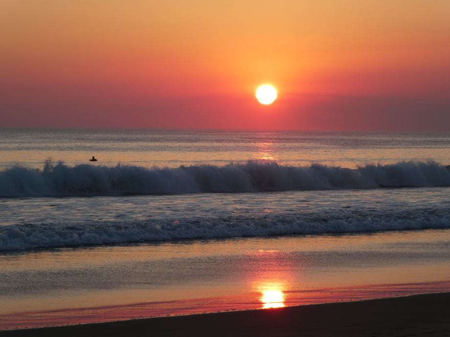 Sunset à Popoyo.