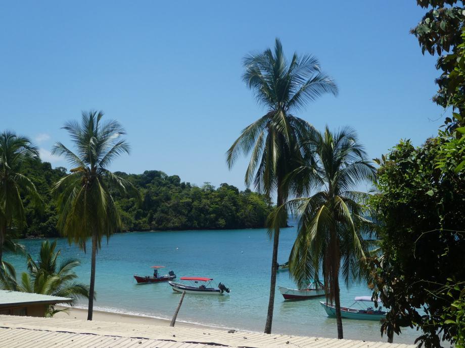 sur l'ile Coiba