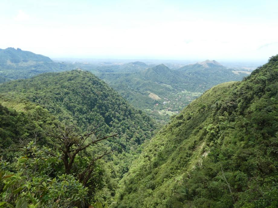 vue du cerro Gaital.