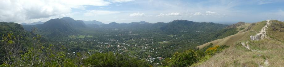 vue panoramique sur El Valle