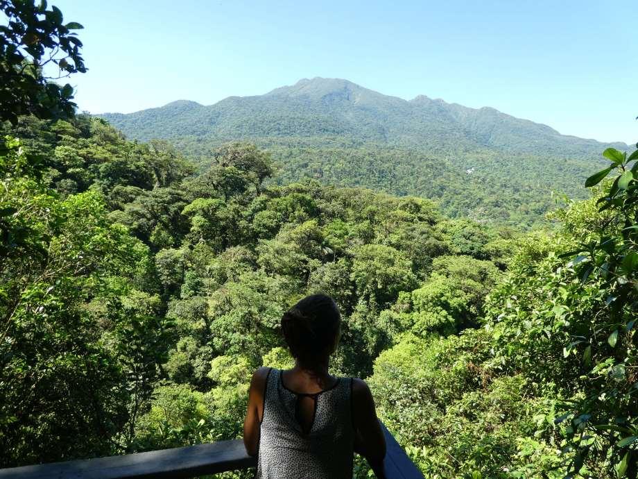Vue sur le volcan Tenorio