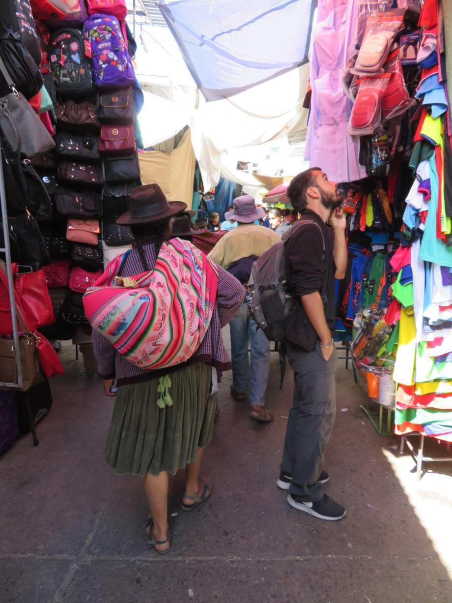 au marché...