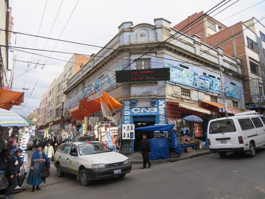 bazar de La Paz