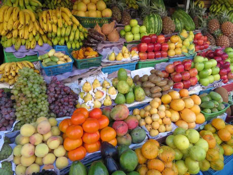étal de fruit