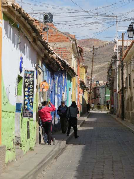 calle, Potosi