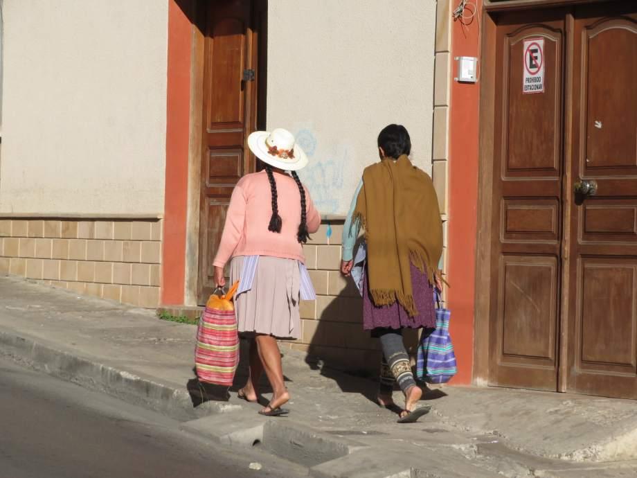 calle, Sucre