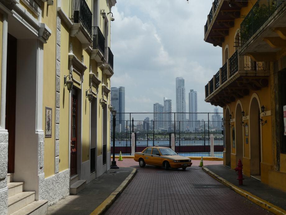 contraste à Panama