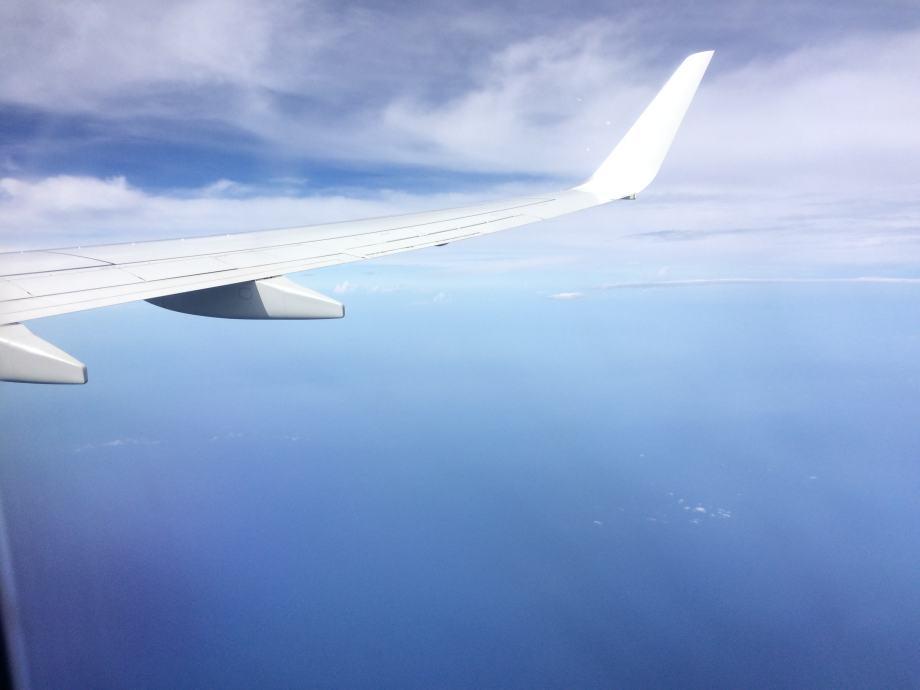 en route pour l Amerique du Sud