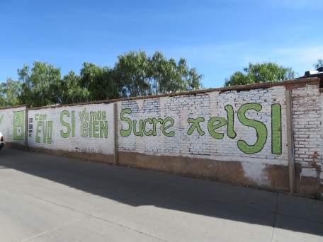Evo si à Sucre-