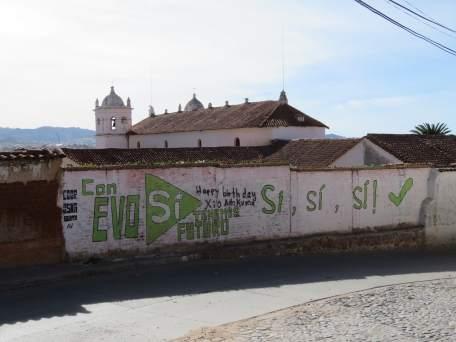 Evo si à Sucre