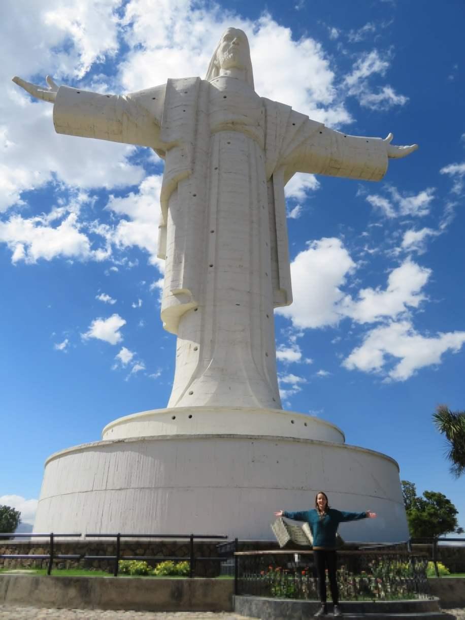 le Jesus le plus haut du monde -