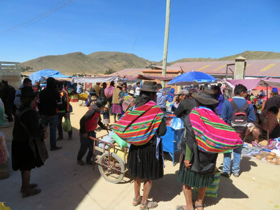 marché de Tarabuco..
