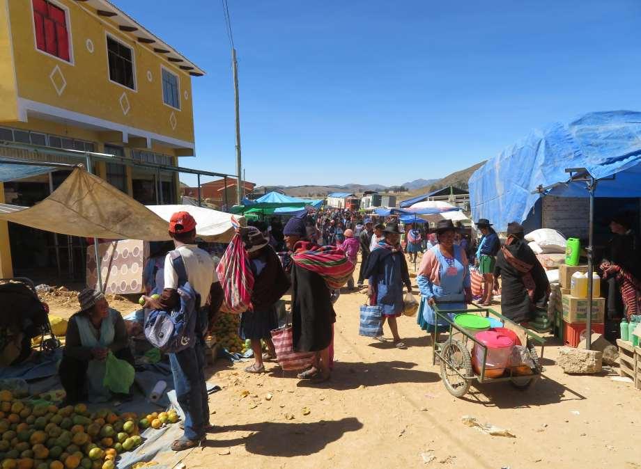 marché de Tarabuco...