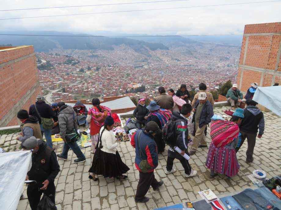 marché d'El Alto -