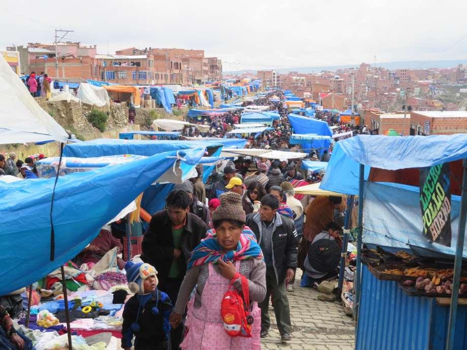marché d'El Alto