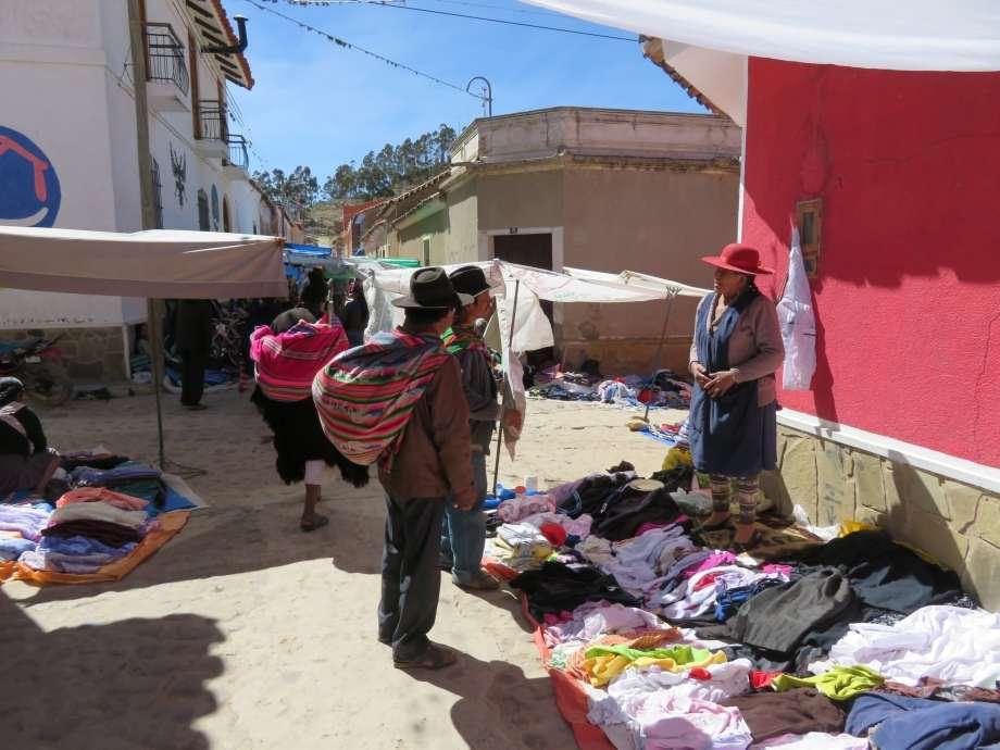 mercado de Tarabuco-