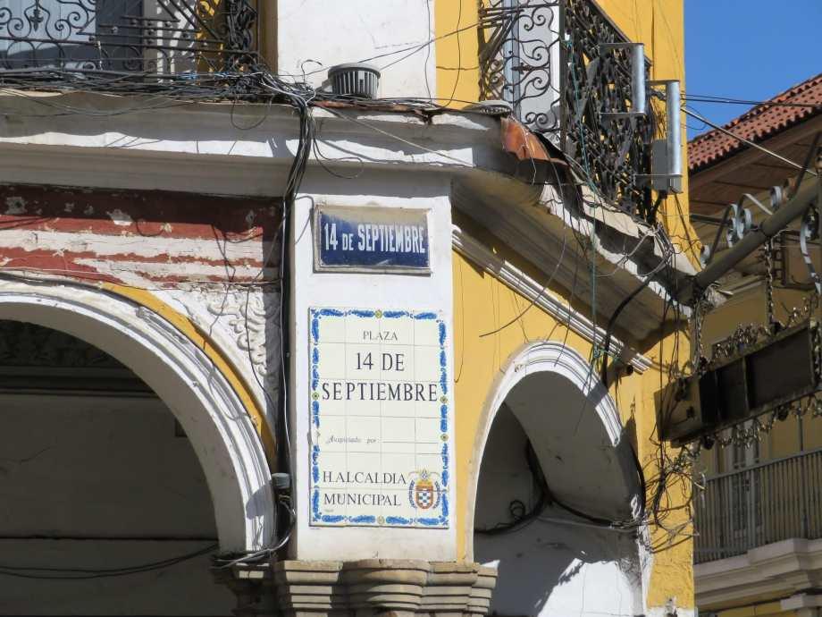 place centrale Cochabamba-