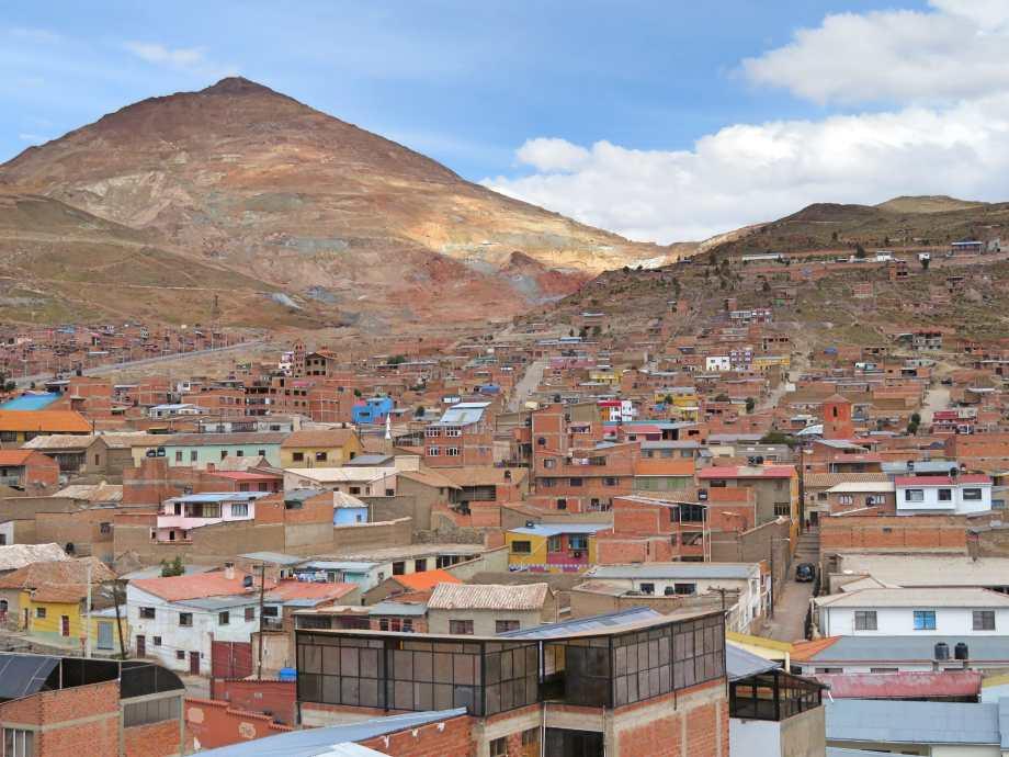 Potosi et le cerro rico