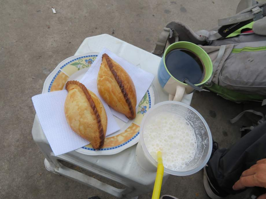premier petit dej bolivien