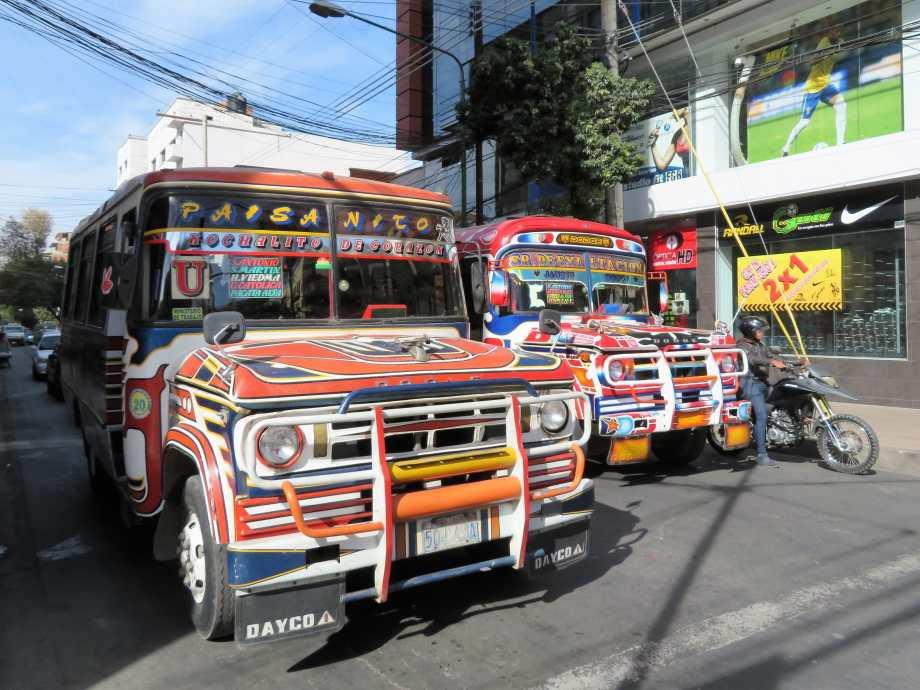 retour du bus coloré