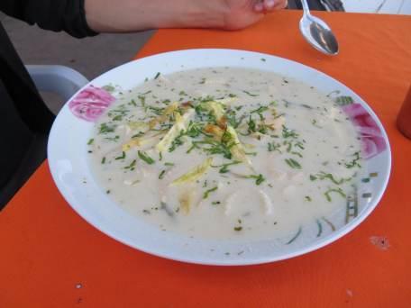 ou soupe de mani (cacahuète)