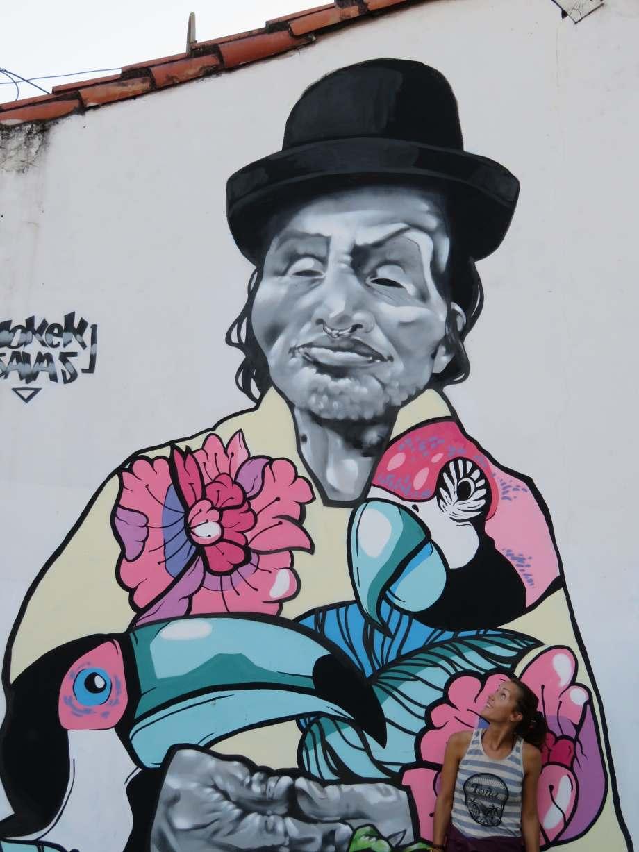 street art Santa Cruz -