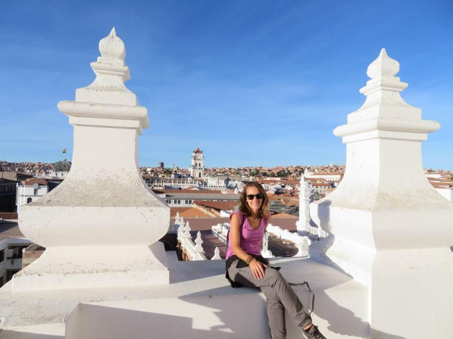 sur le toit du couvent