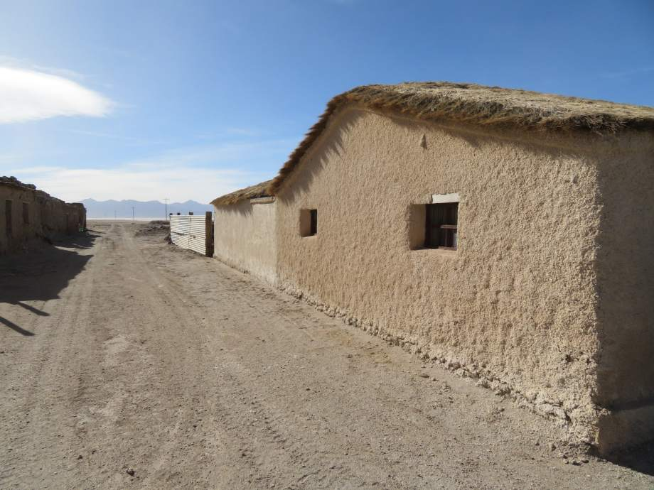village de l'altiplano