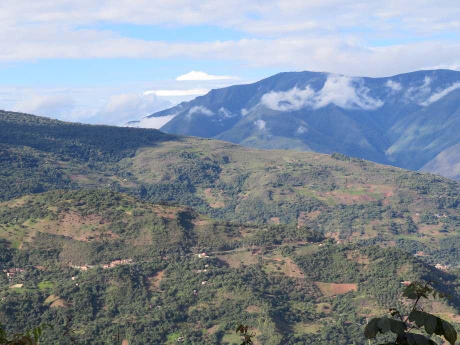 vue de Chulumani -