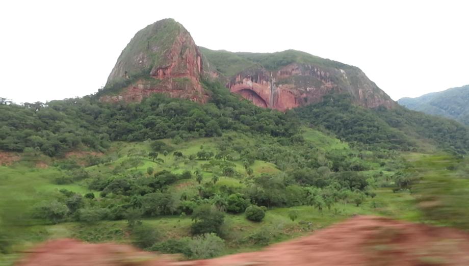 vue de la route pour Samaipata