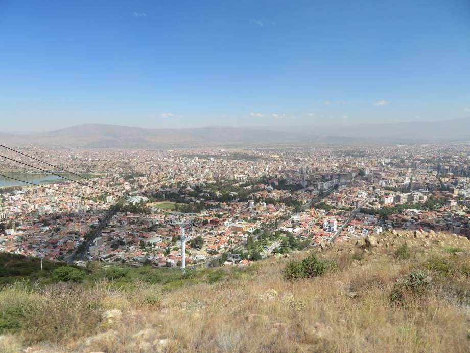 Vue sur Cochabamba