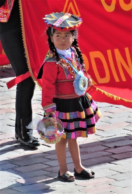danse des petits à Cusco