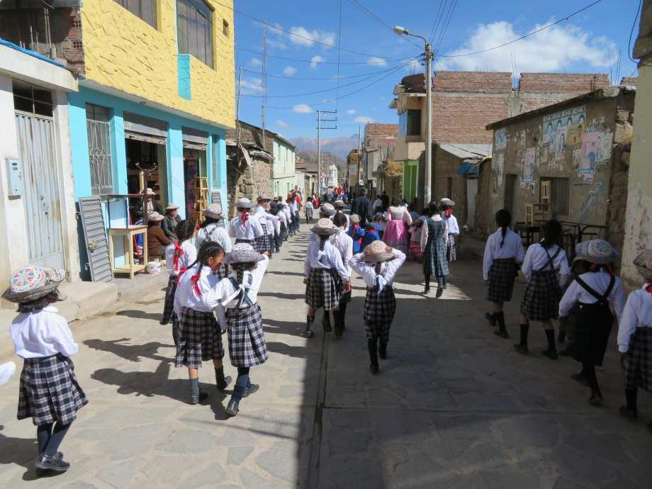 fête à Cabanaconde