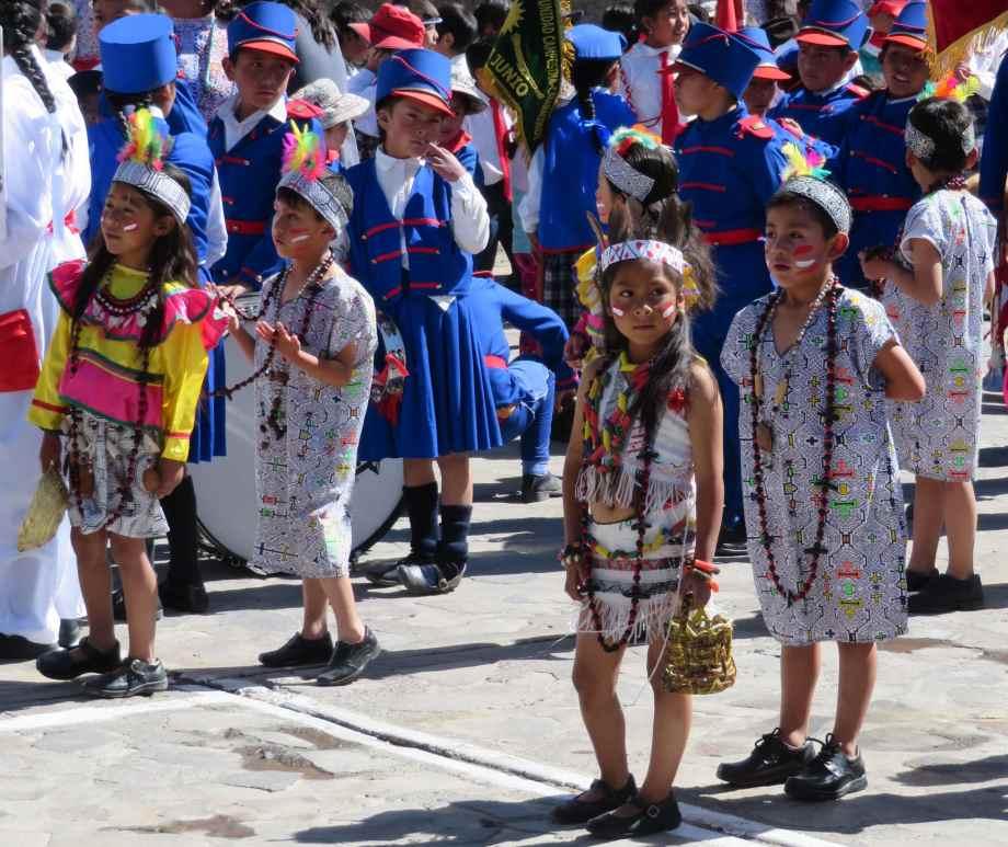fête à Cabanaconde-